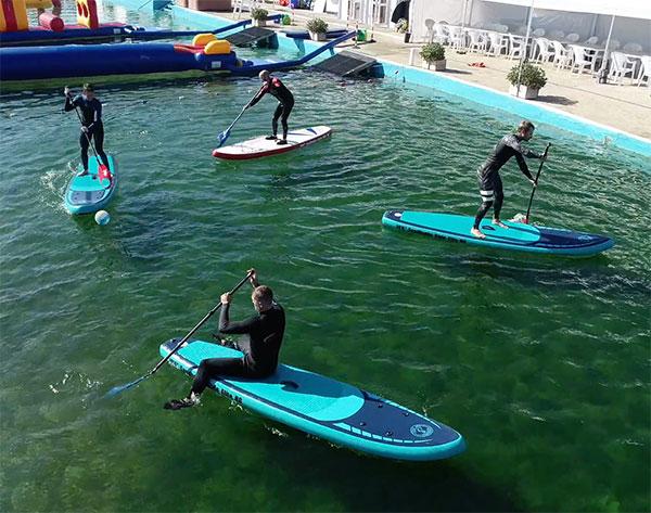 Corporate Paddleboard Polo
