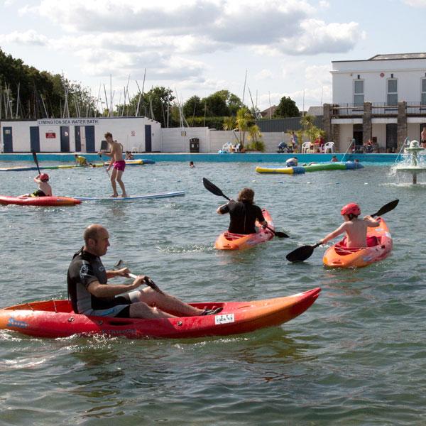 Lymington Kayaking Hire